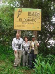 David Barbara and Edison in Colombia